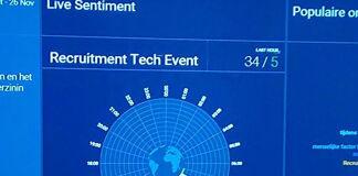 Recruitment Tech Event: Trending en heel veel tweets