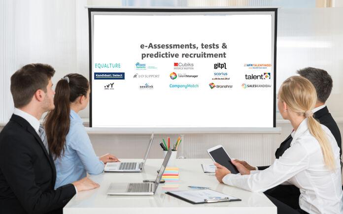 RT Landscape: een blik op de leveranciers van e-Assessments, tests & predictive recruitment