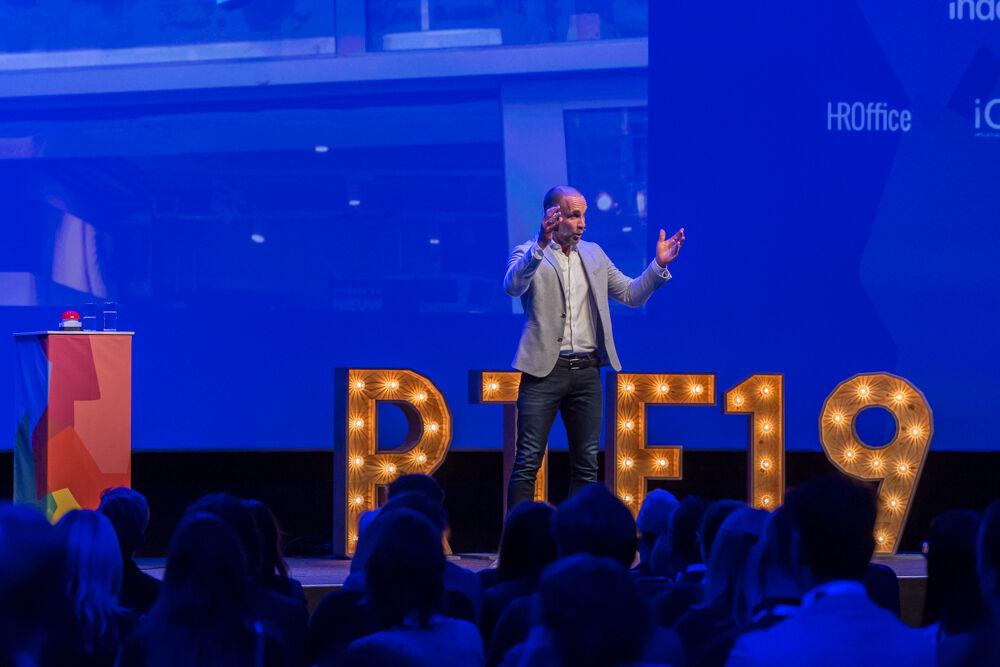 Richard van Hooijdonk, plenaire keynote op het Recruitment Tech Event 2019