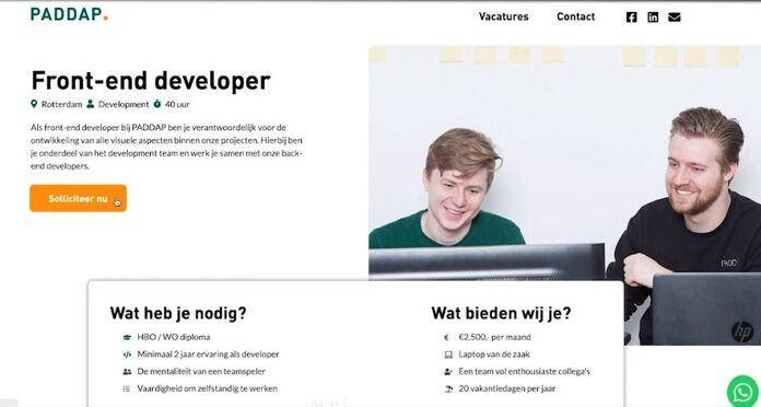 Kijk de demo talk van PADDAP terug: Dé beste 'werken-bij' website voor ieder bedrijf