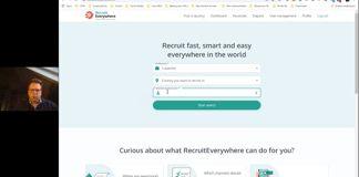Kijk de demo talk van RecruitEverywhere terug: Overal op de wereld snel en eenvoudig werven