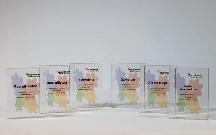 Volg maandag 19 oktober online de bekendmaking van de nominaties Recruitment Tech Awards 2020