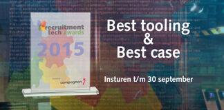 Eerste inzendingen Recruitment Tech Awards zijn binnen