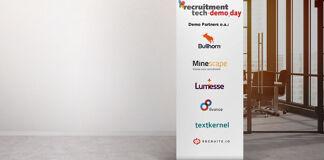 Minescape, Bullhorn, Lumesse, Textkernel, Recruitz.io en 8vance ook partners Demo_Day