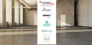 Weer 5 partners Demo_Day 2020 Online bekend: Academie voor Arbeidsmarktcommunicatie, Carerix, Joboti, OnRecruit & theMatchBox