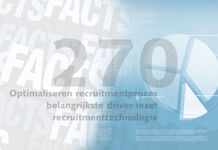 Friday Fact: Optimaliseren recruitmentproces belangrijkste driver inzet recruitmenttechnologie