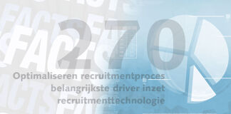 Friday Fact: Optimaliseren recruitmentproces belangrijkste driver inzet recruitmenttechnologie