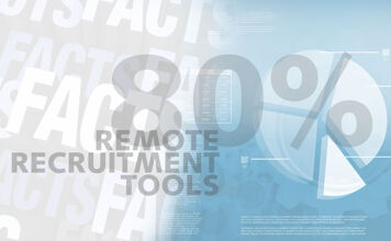 Friday Fact: 80% van de recruiters zet remote recruitmenttools in tijdens lockdown