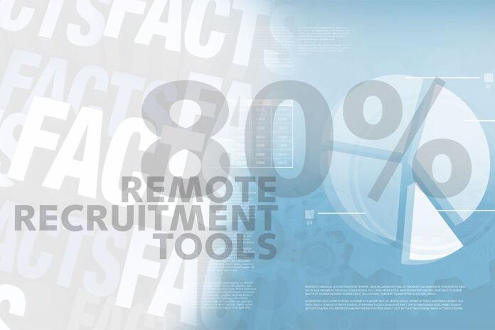 Friday Fact: 80% van de recruiters zet remote recruitmenttools in tijdens lockdown