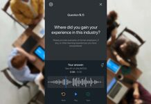 Audio technologie voor een efficiëntere communicatie met kandidaten (Audio Intakes)