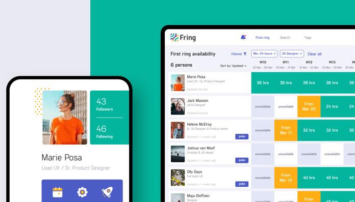 Social Freelance management tool (Fring)